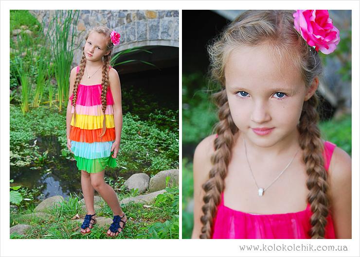детская фотосессия, фотопроект Принцессы