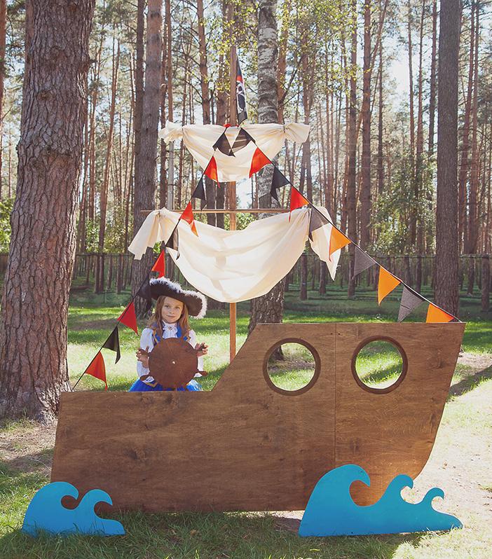 Декорации для пиратской вечеринки