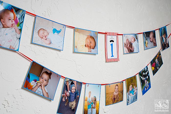 День рождения ребенка 1 год своими руками фото
