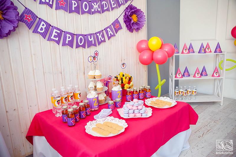 День рождения ребенка 2 года дома
